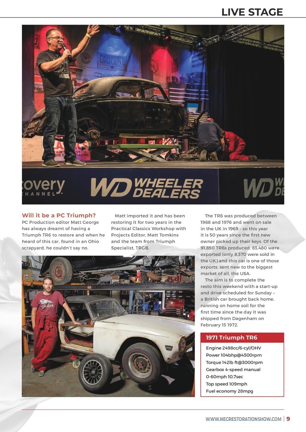 Practical Classics Classic Car & Restoration Show Preview 2019