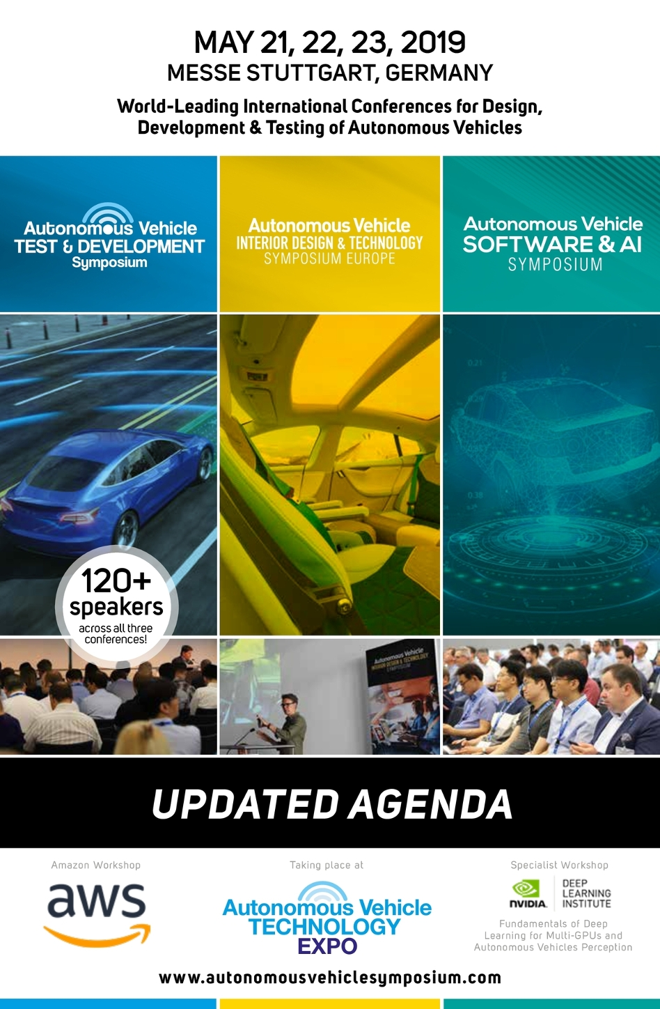 Autonomous Vehicle Technology Expo 2019 Conferences