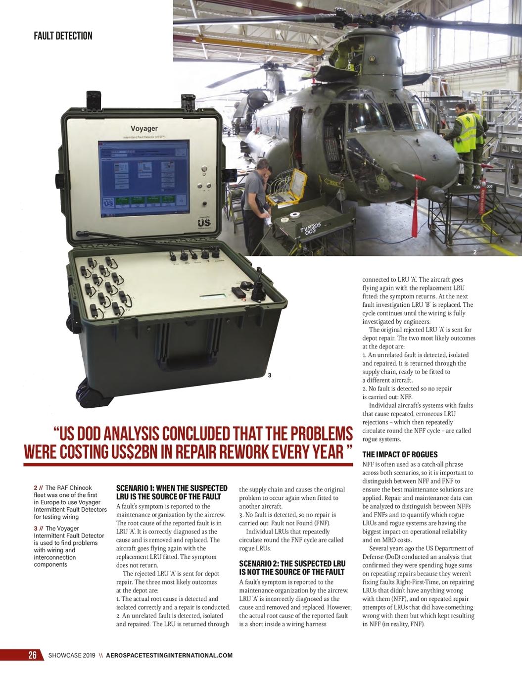 Annual Showcase 2019 Aerospace Testing International Uki Wiring Harness Tester Page 28