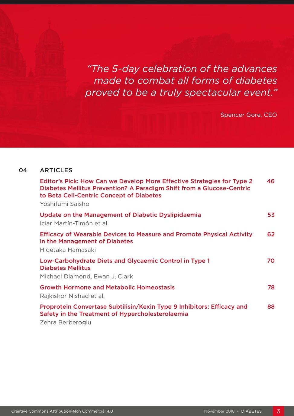 EMJ Diabetes 6 1 2018 - European Medical Journal