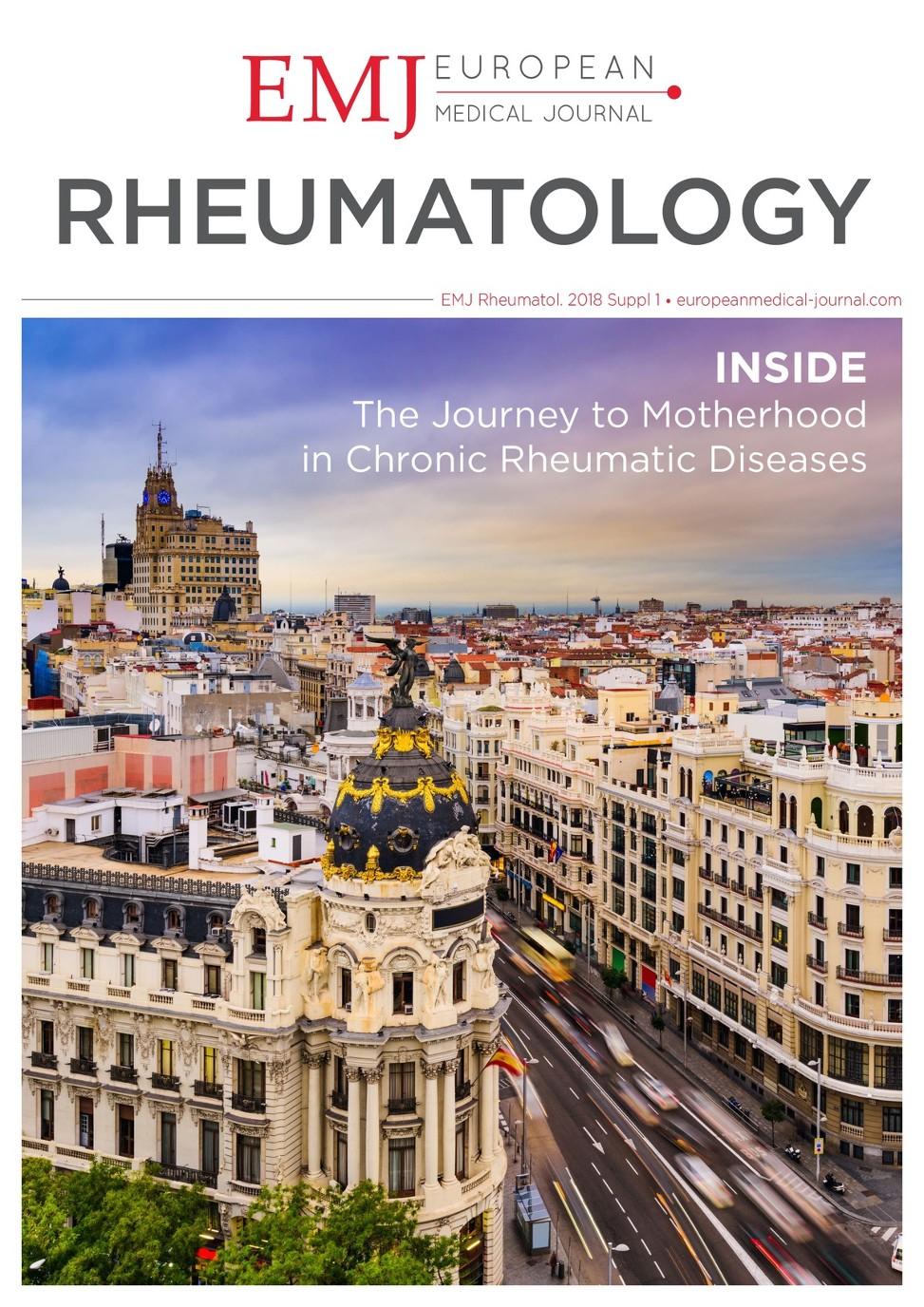 EMJ Rheumatology 5 [Suppl 1] 2018 - European Medical Journal