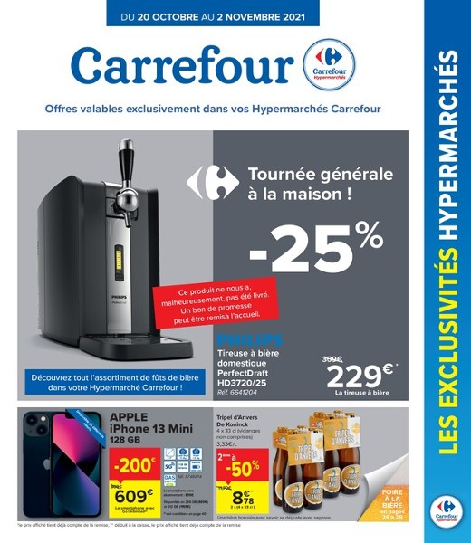 Offres hypermarché exclusives