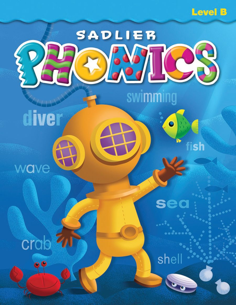 Sadlier Phonics, Level B, Grade 2 Student Edition