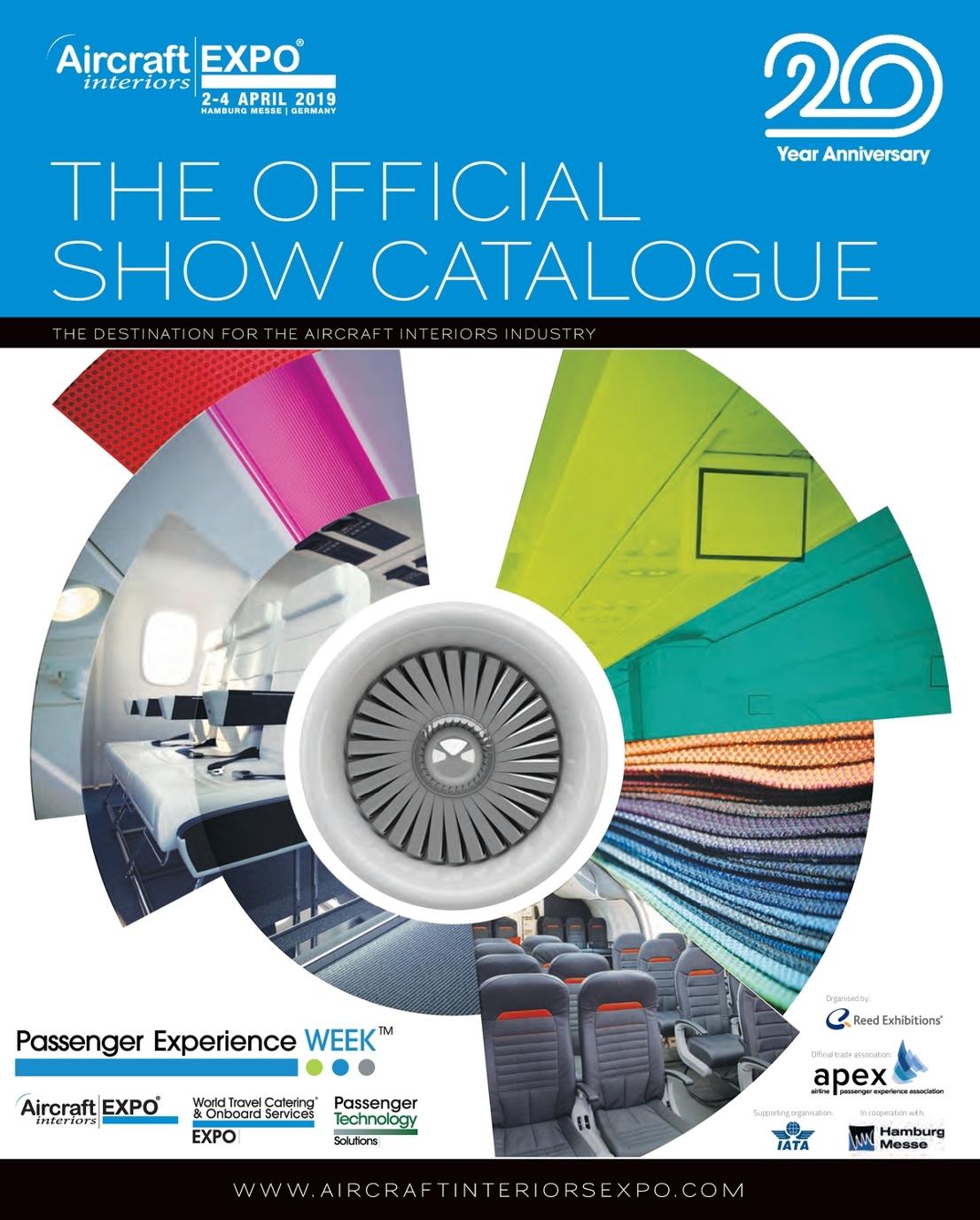 Aircraft Interiors Expo Official Show Catalogue 2019
