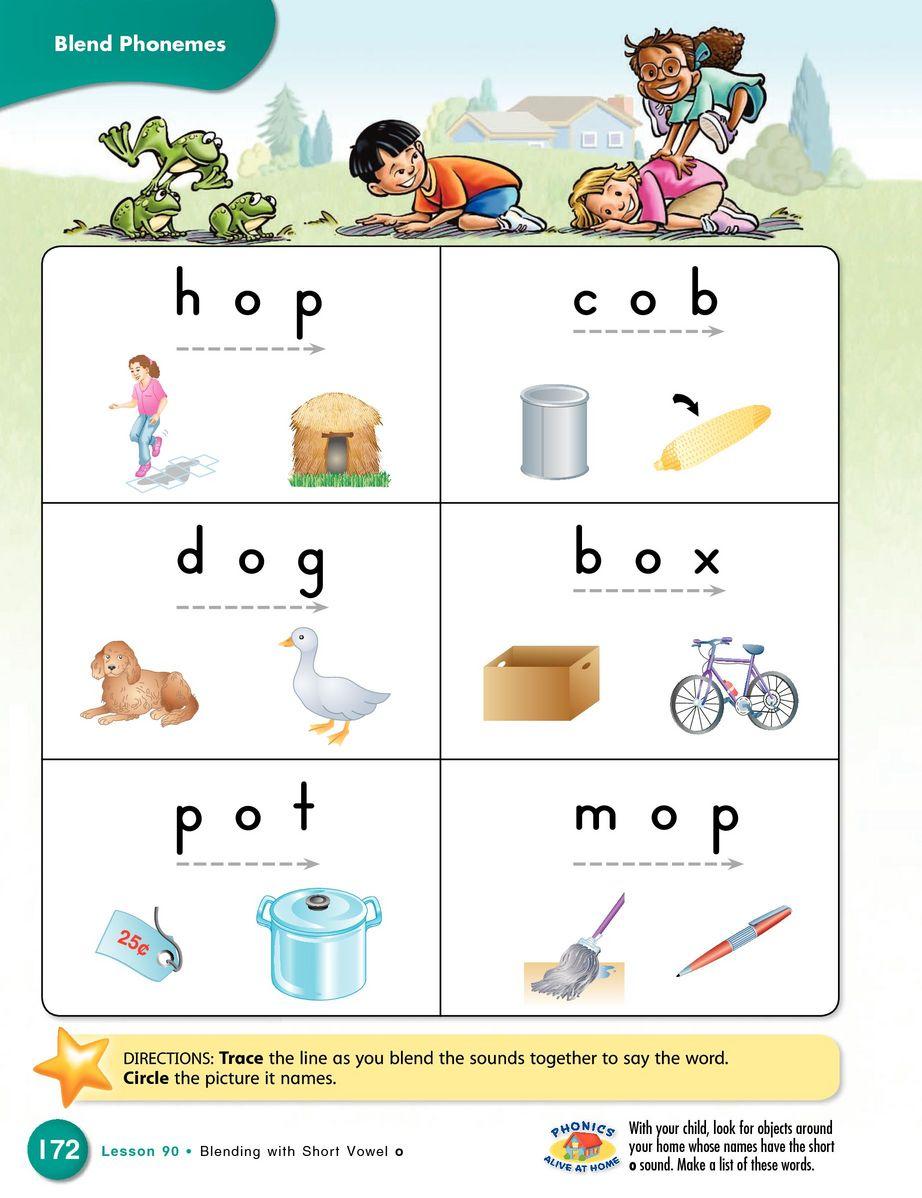 Sadlier Phonics, Level K, Kindergarten Student Edition