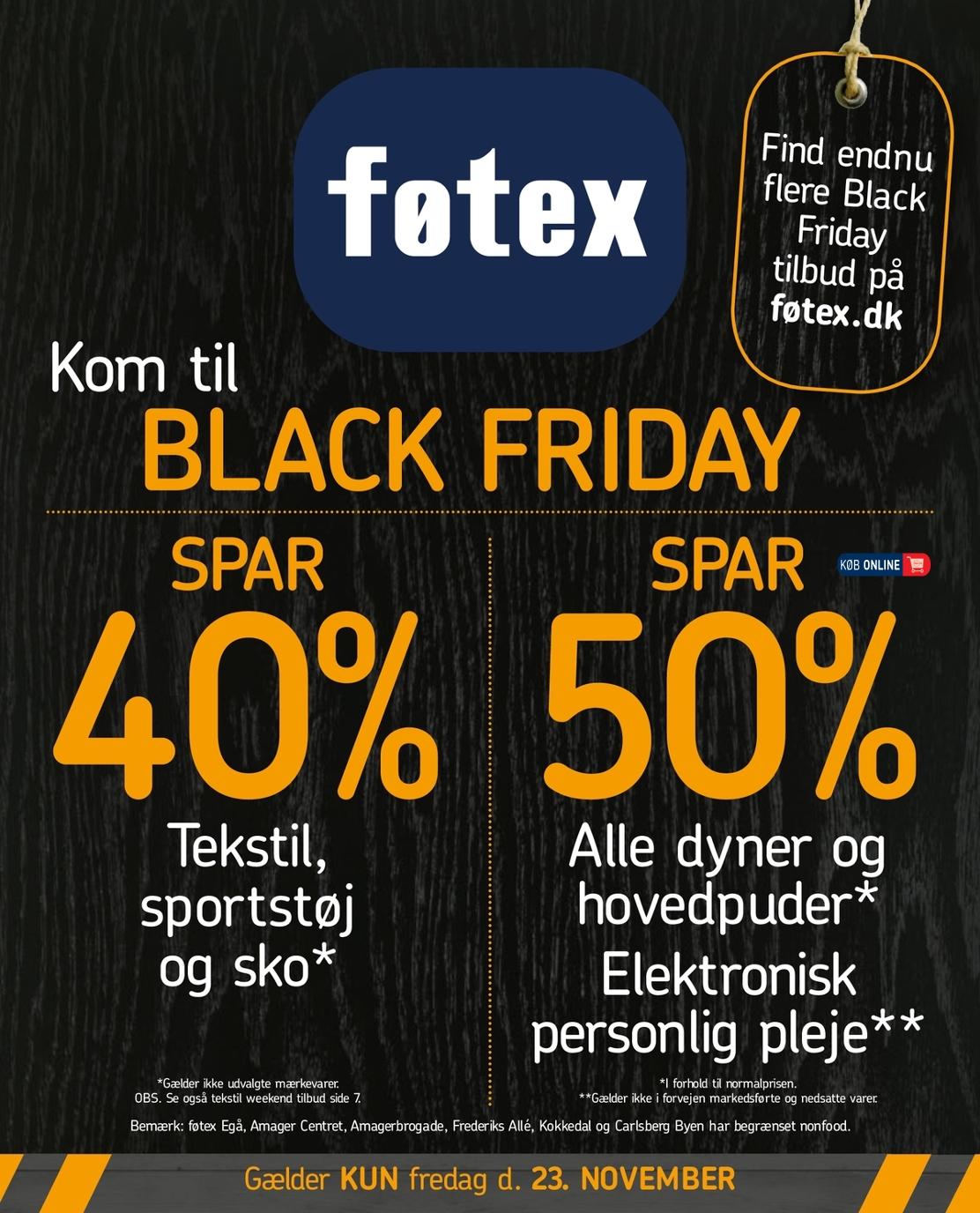 føtex black friday tilbud