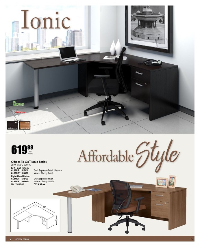 office furniture: querney's office plus
