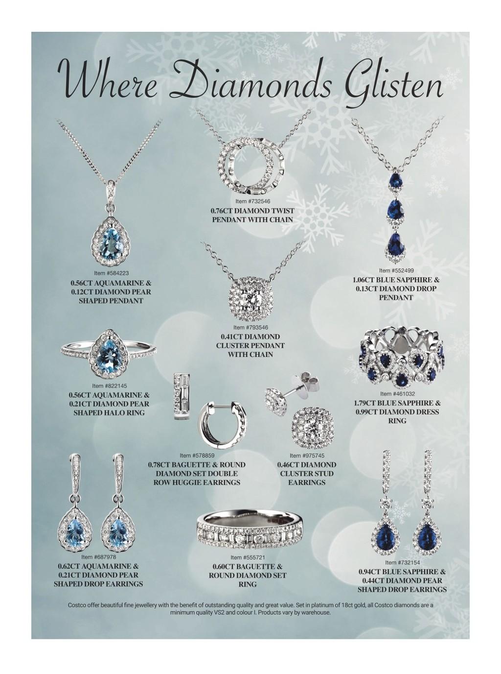 Costco Sapphire Jewelry Promotions