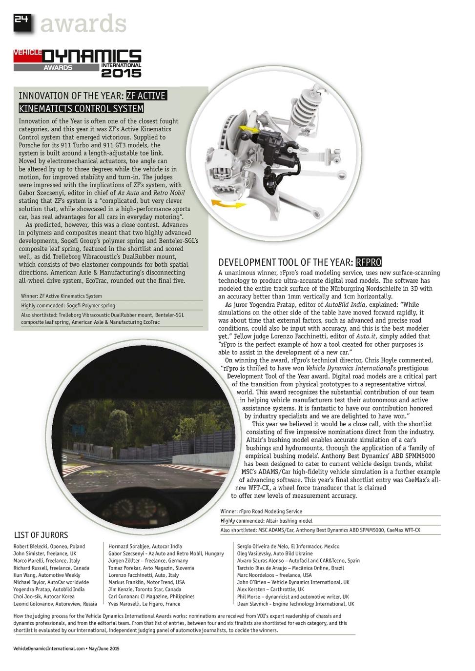 May/June 2015 Vehicle Dynamics International - UKi