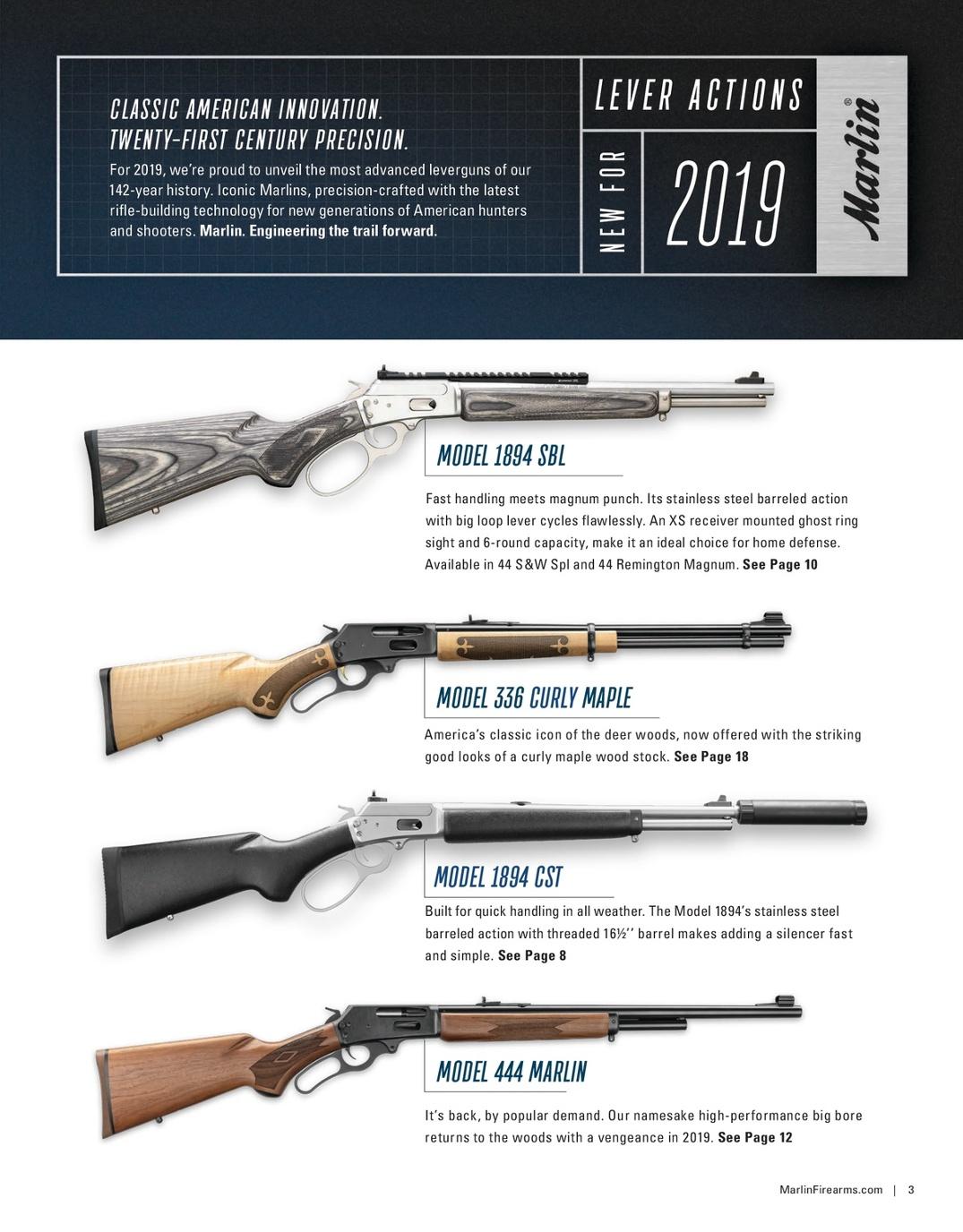 2019 Marlin Catalog
