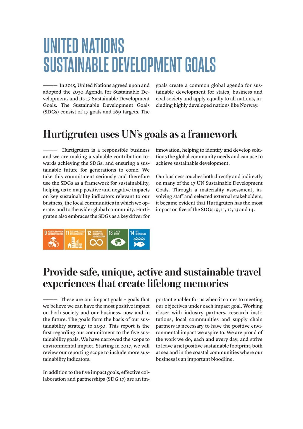 Our Corporate Social Responsibility | Hurtigruten