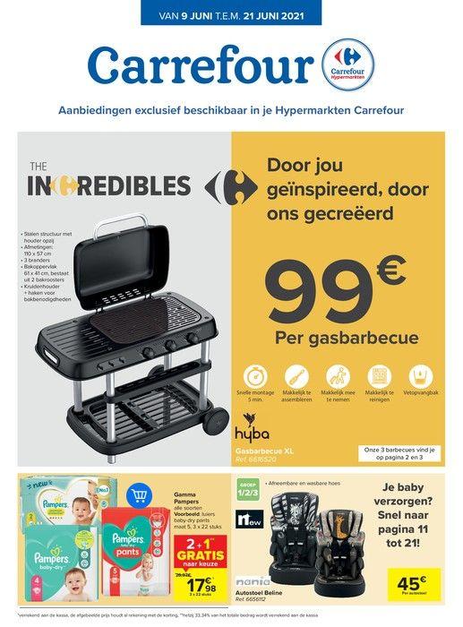 The incredibles van Carrefour