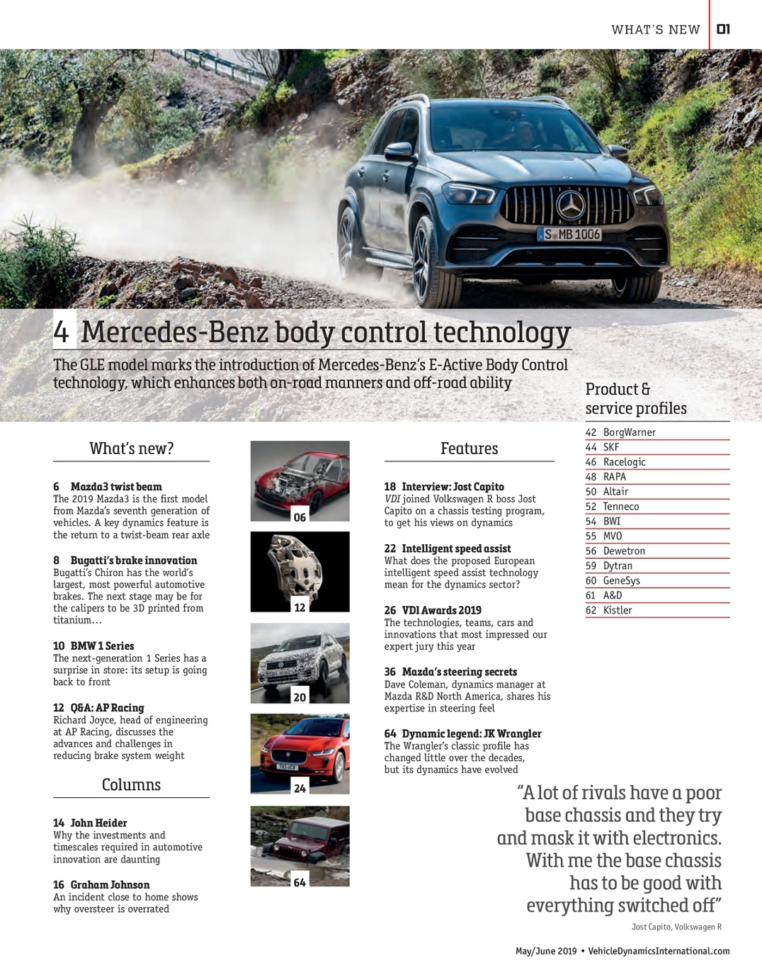 Vehicle Dynamics International - May-June 2019