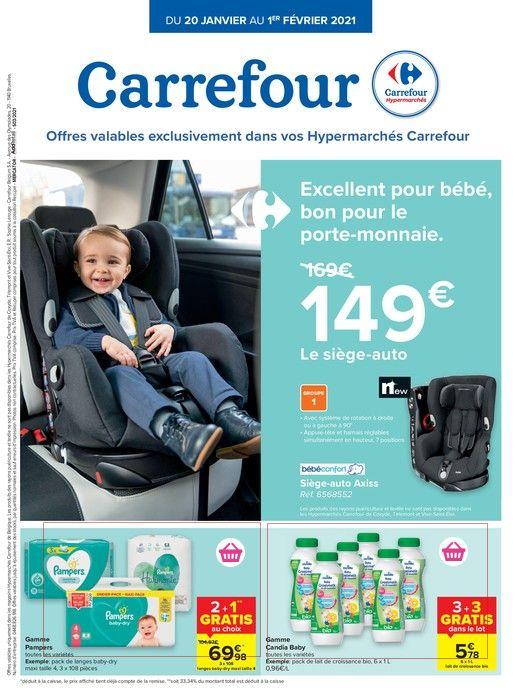 Carrefour Hyper : offres valables à partir du 20 janvier