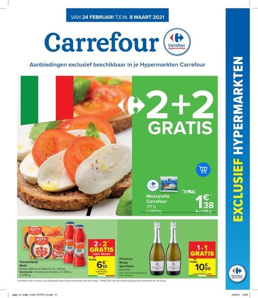 Carrefour Hyper : aanbiedingen geldig vanaf 24 februari