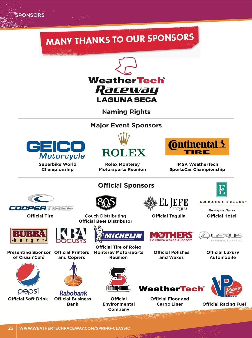 WeatherTech Raceway Spring Classic 2018