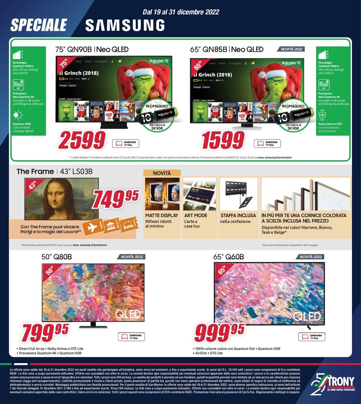 buy online 2eb9f a0344 Volantino - Trony