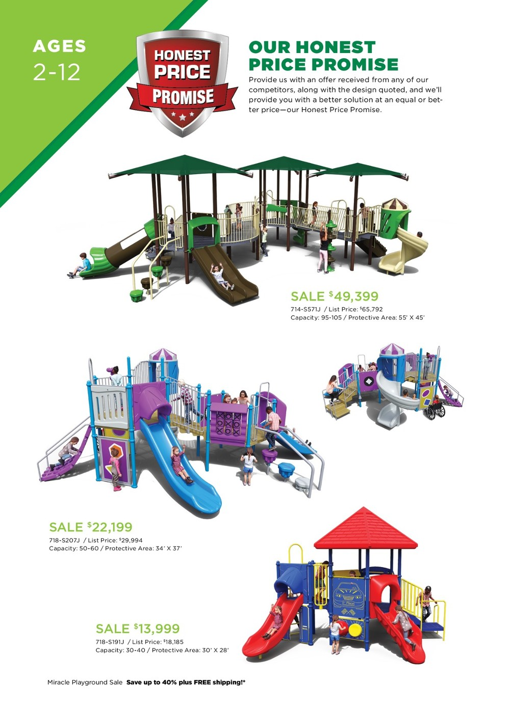 2019 Miracle 2H Playground Sale