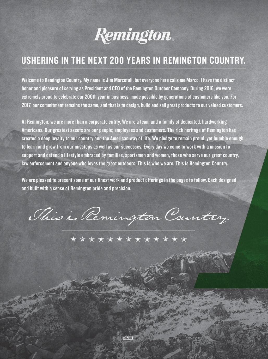 2017 Remington Digital Catalog