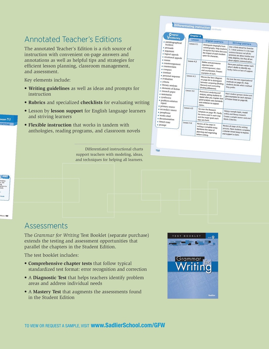 Grammar For Writing Grades 9 12 Brochure Logic Venn Diagram Problems Page 3