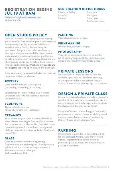 Arts Classes - Drama, Music, Painting, Ceramics, & Dance Classes