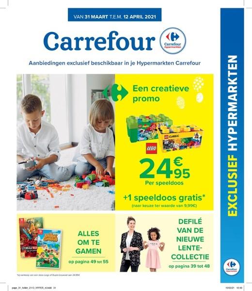 Carrefour Hyper : aanbiedingen geldig vanaf 31 maart