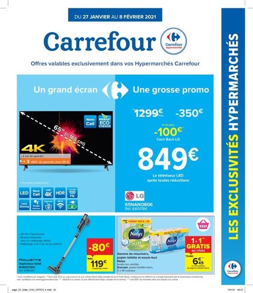Carrefour Hyper : offres valables à partir du 27 janvier