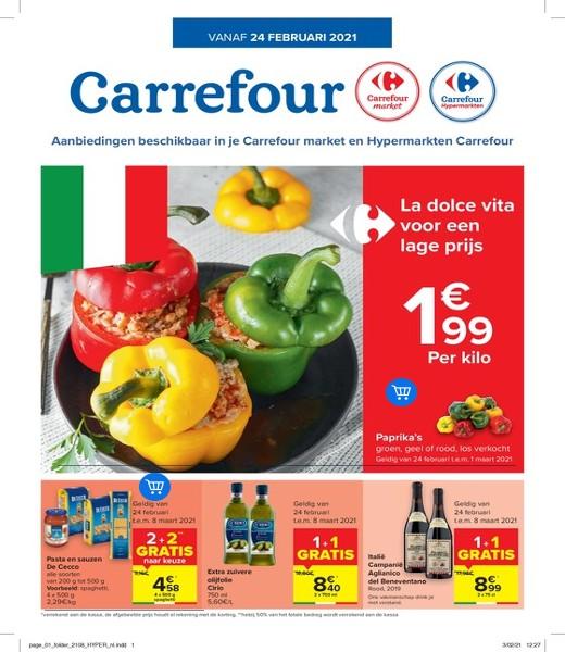 Carrefour : aanbiedingen geldig vanaf 24 februari