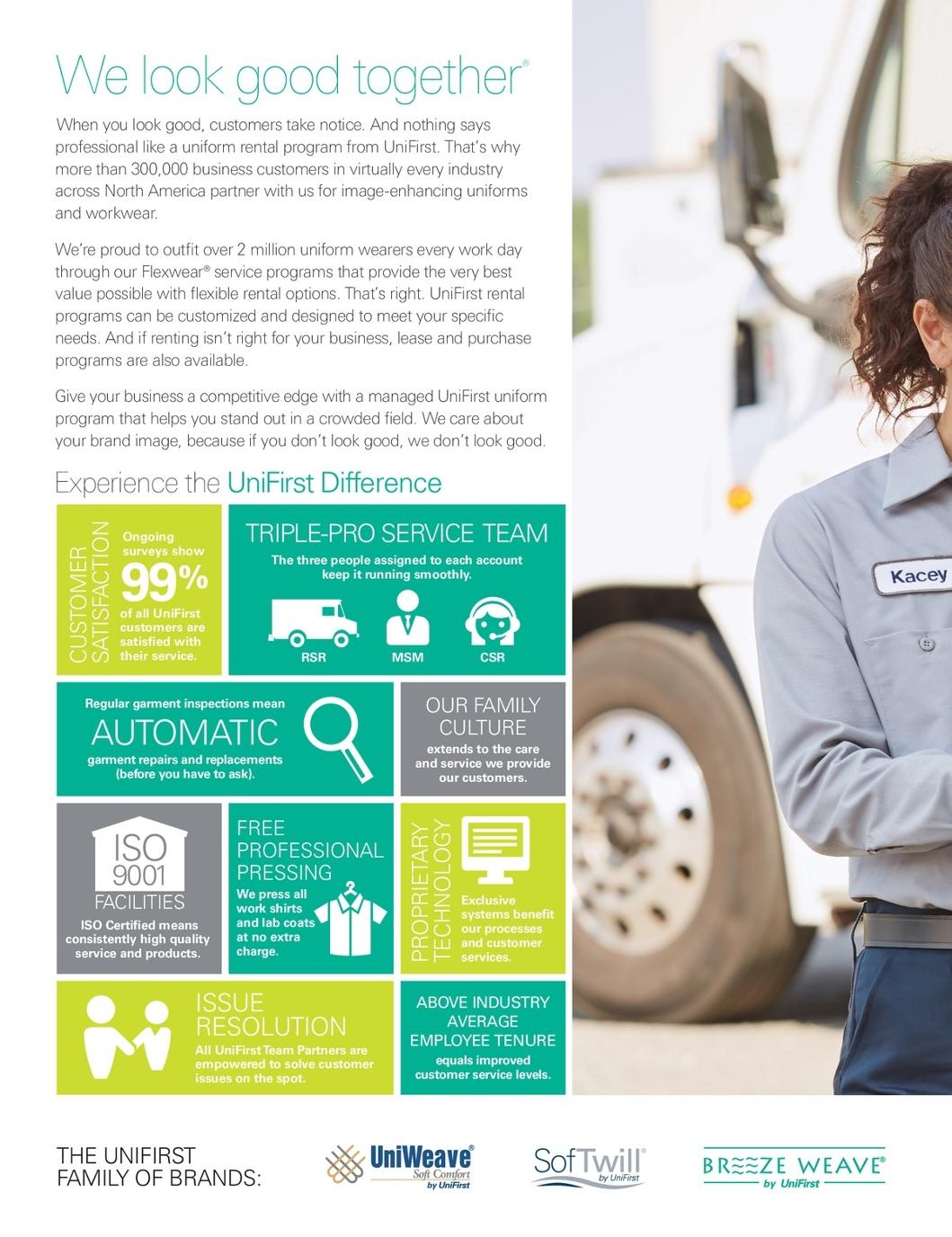 Uniform Rental Catalog | UniFirst