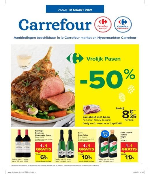 Carrefour : aanbiedingen geldig vanaf 31 maart