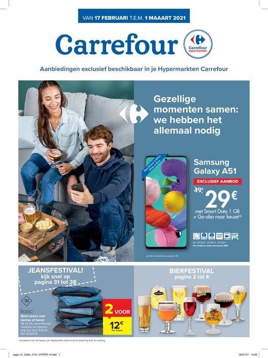 Carrefour Hyper : aanbiedingen geldig vanaf 17 februari
