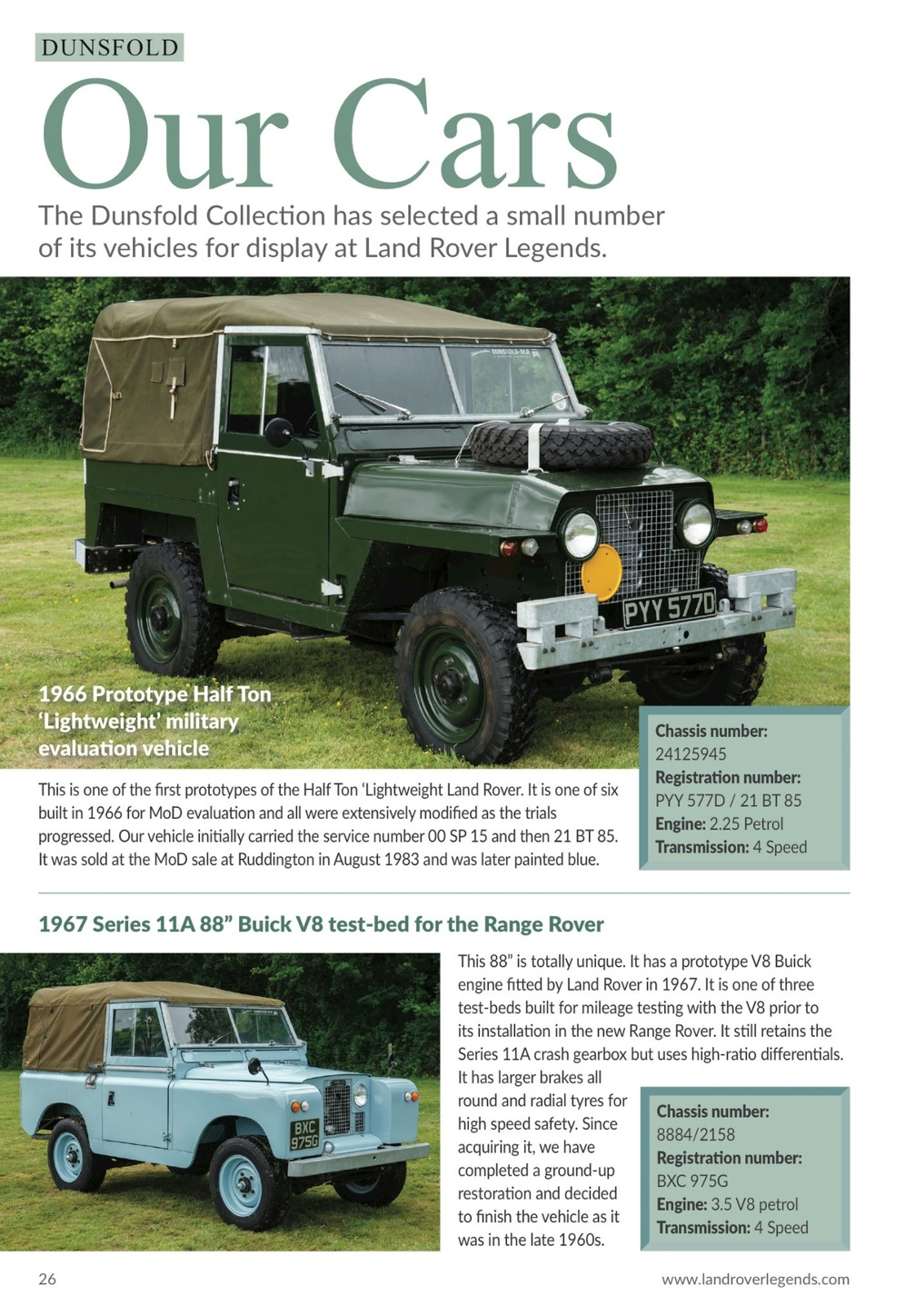 Land Rover Legends 2018 2 25 Engine Page 26