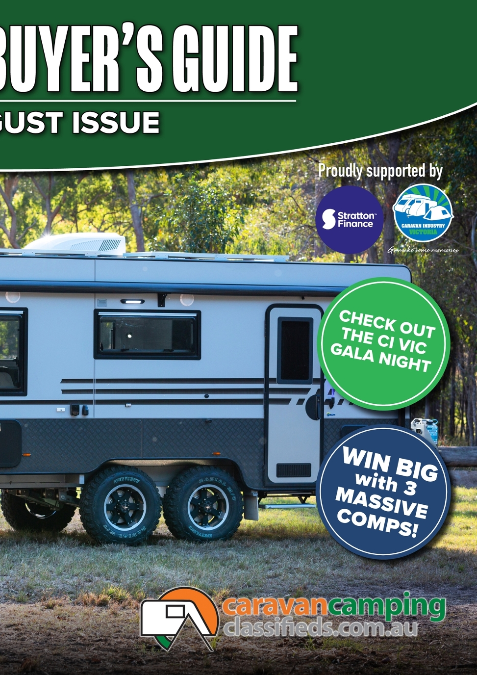 RV National Buyer's Guide -July/August - Caravan Camping Classifieds