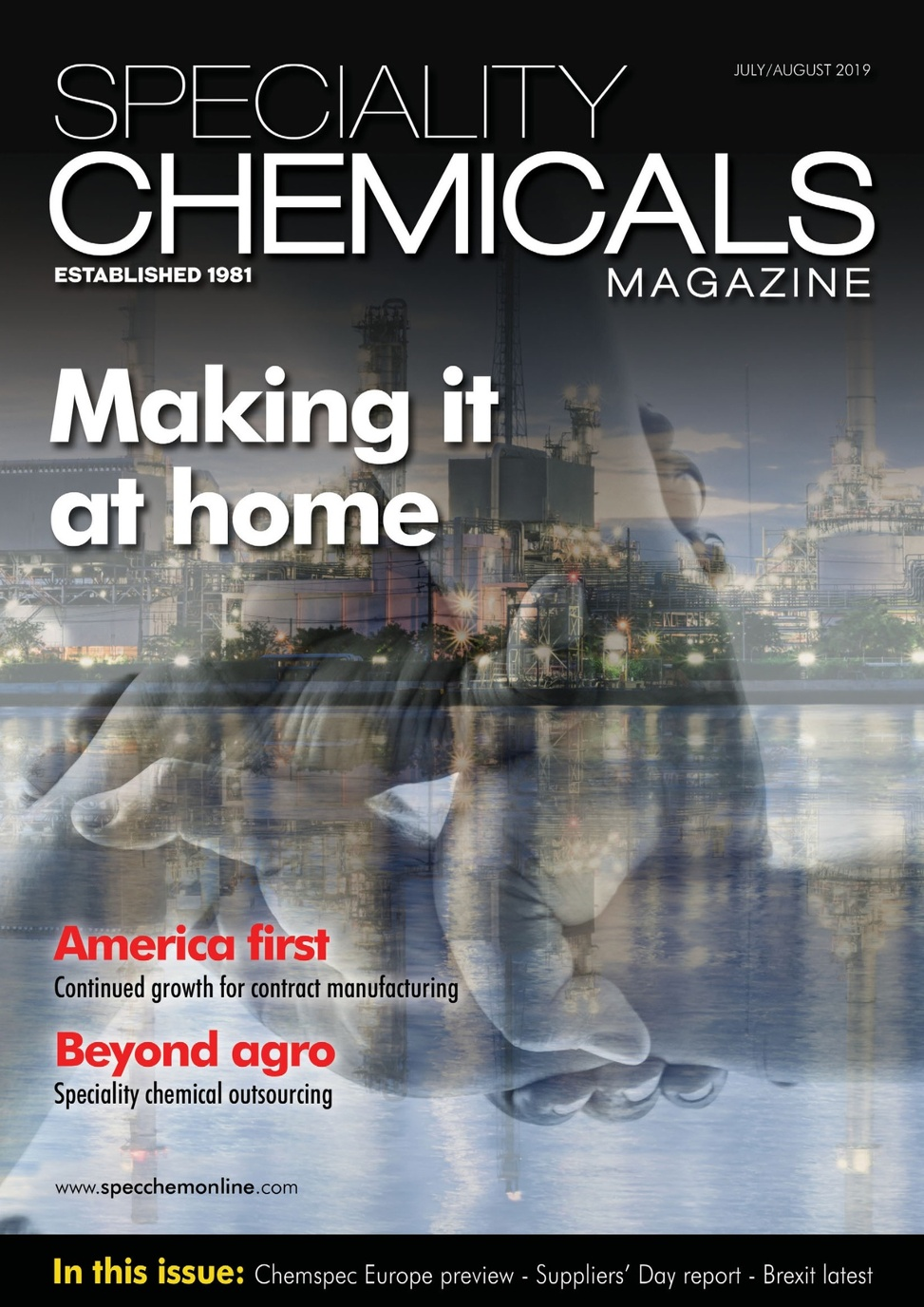 Speciality Chemicals Magazine Jul-Aug 2019