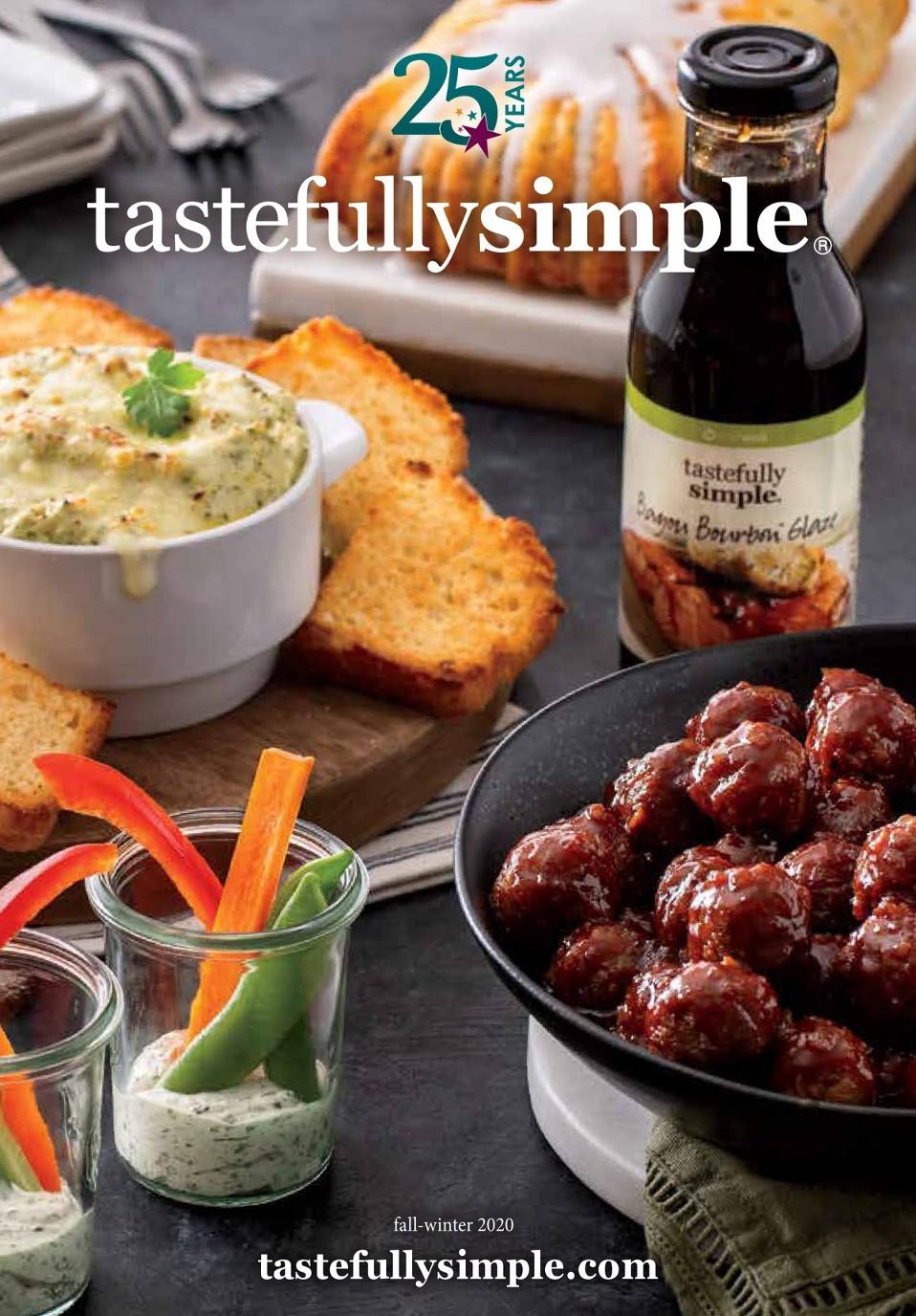 Tastefully Simple E-Catalog - Latest Lifestyle Food Catalog