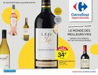 Carrefour folder: C'est la foire aux vins de printemps :  offres valables à partir du 14 mars