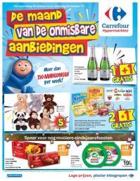 Carrefour folder: De maand van de onmisbare aanbiedingen