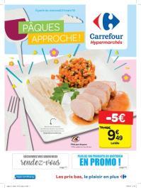 Carrefour folder: Pâques approche : offres valables à partir du 21 mars