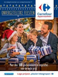 Carrefour folder: Onvergetelijke feesten : aanbiedingen geldig vanaf 24 november