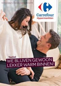 Carrefour folder: We blijven gewoon lekker warm binnen : aanbiedingen geldig vanaf 10 januari