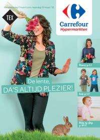 Carrefour folder: De lente da's altijd plezier : aanbiedingen geldig vanaf 7 maart