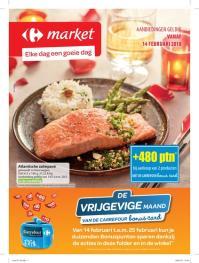 Carrefour folder: De vrijgevige maand : aanbiedingen geldig vanaf 14 februari