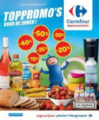 Carrefour folder: Toppromo's voor de zomer