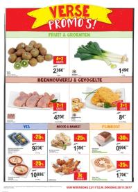 Carrefour folder: Verse promo's : vanaf 22 november  t.e.m. 28 november