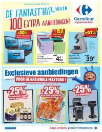Carrefour folder: De Fantast'hyp -weken : 100 extra aanbiedingen