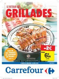 Carrefour folder: Le retour des grillades : offres valables à partir du 18 avril