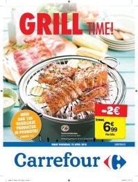 Carrefour folder: Grill time : aanbiedingen geldig vanaf 18 april
