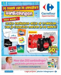 Carrefour folder: De maand van de onmisbare aanbiedingen : aanbiedingen geldig vanaf 8 november
