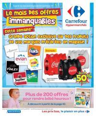 Carrefour folder: Le mois des offres immanquables : offres valables à partir du 8 novembre