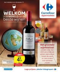 Carrefour folder: Welkom in de wereld van de beste wijnen